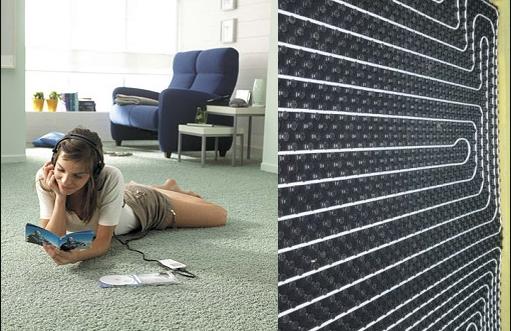 Фото - Какой ковролин выбрать на теплый пол